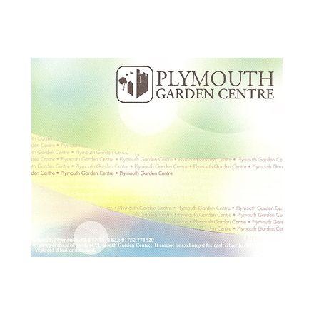 Plymouth Garden Centre Gift vouchers